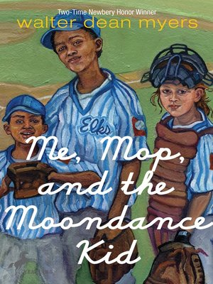 cover image of Me, Mop, and the Moondance Kid
