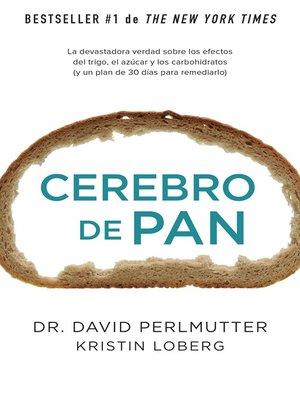 cover image of Cerebro de pan