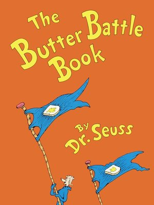 cover image of The Butter Battle Book