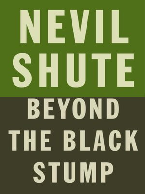 cover image of Beyond the Black Stump
