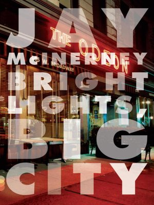 cover image of Bright Lights, Big City