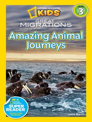 cover image of National Geographic Readers: Great Migrations Amazing Animal Journeys