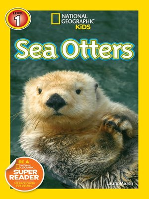 cover image of National Geographic Readers: Sea Otters