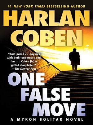 cover image of One False Move