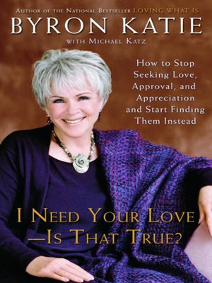 cover image of I Need Your Love--Is That True?