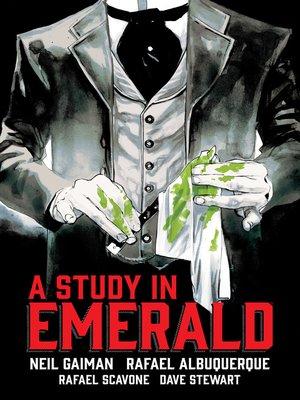 Neil Gaimans A Study In Emerald