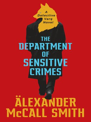 cover image of The Department of Sensitive Crimes