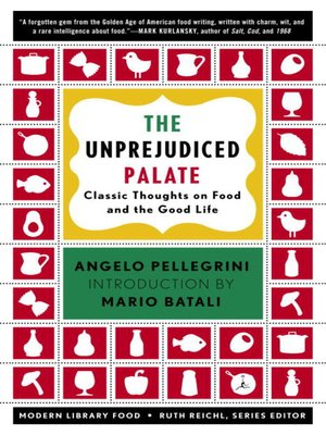 cover image of The Unprejudiced Palate