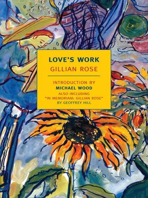 cover image of Love's Work