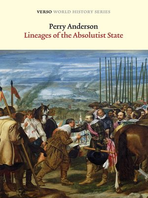 cover image of Lineages of the Absolutist State