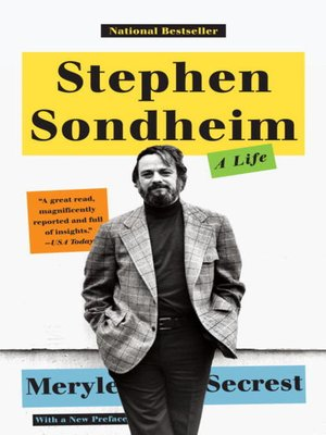 cover image of Stephen Sondheim