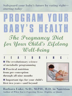 cover image of Program Your Baby's Health