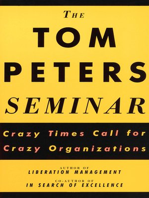 cover image of The Tom Peters Seminar