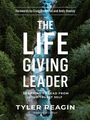 cover image of The Life-Giving Leader