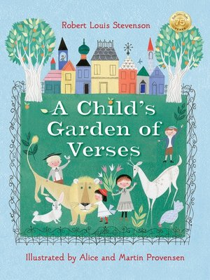 cover image of Robert Louis Stevenson's a Child's Garden of Verses