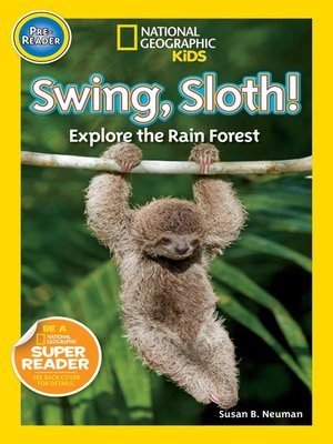 cover image of National Geographic Readers: Swing Sloth!