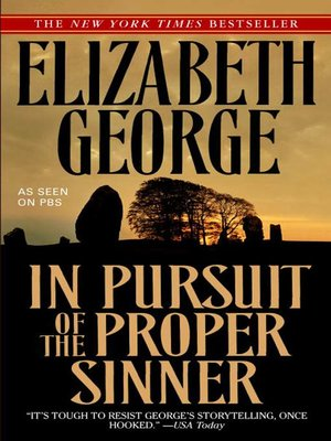 cover image of In Pursuit of the Proper Sinner