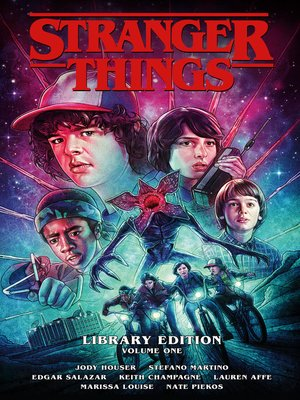 cover image of Stranger Things Library Edition Volume 1
