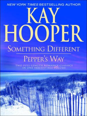 cover image of Something Different/Pepper's Way