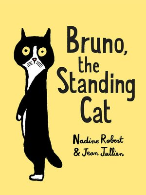 cover image of Bruno, the Standing Cat