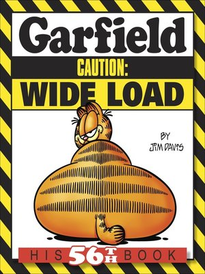 cover image of Garfield Caution: Wide Load