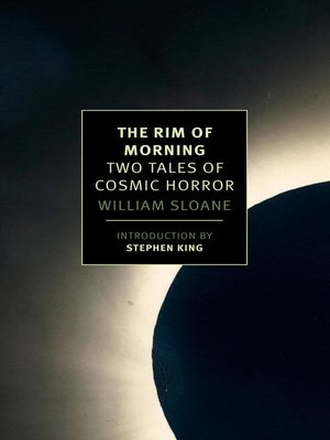 cover image of The Rim of Morning