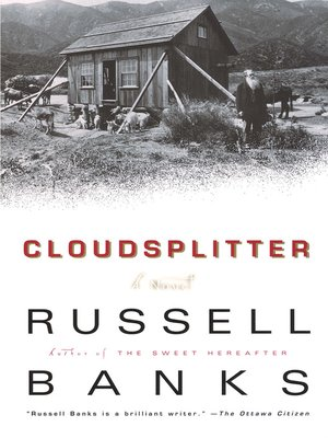 cover image of Cloudsplitter