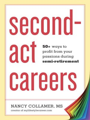 cover image of Second-Act Careers