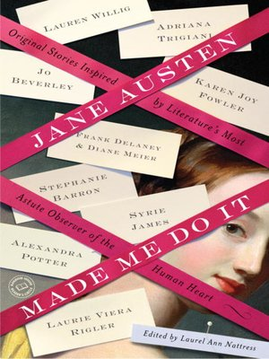 cover image of Jane Austen Made Me Do It