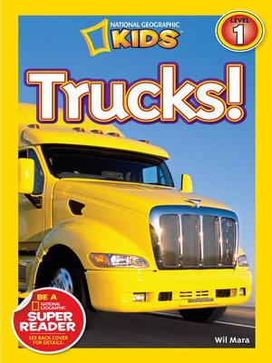 cover image of National Geographic Readers: Trucks