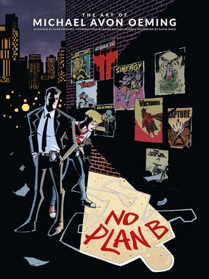 cover image of The Art of Michael Avon Oeming: No Plan B