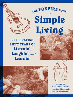 cover image of The Foxfire Book of Simple Living
