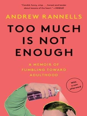 cover image of Too Much Is Not Enough