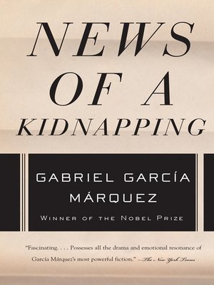 cover image of News of a Kidnapping