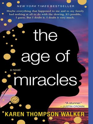 cover image of The Age of Miracles