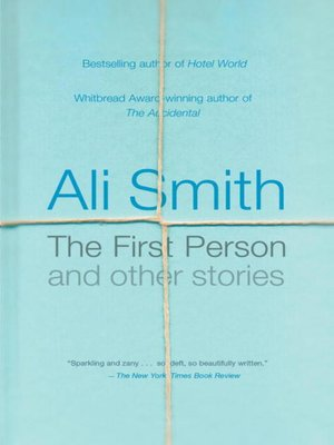 cover image of The First Person