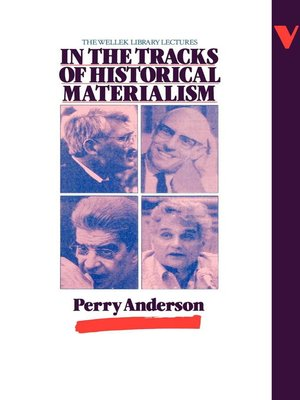 cover image of In the Tracks of Historical Materialism