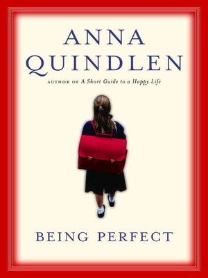 cover image of Being Perfect