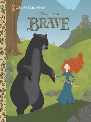 cover image of Brave Little Golden Book