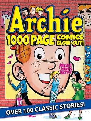 cover image of Archie 1000 Page Comics BLOW-OUT!