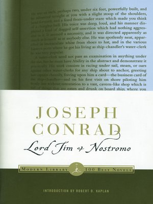 cover image of Lord Jim & Nostromo