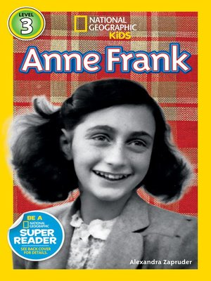 cover image of National Geographic Readers: Anne Frank