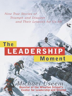 cover image of The Leadership Moment