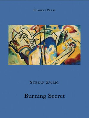 cover image of Burning Secret