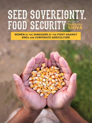 cover image of Seed Sovereignty, Food Security
