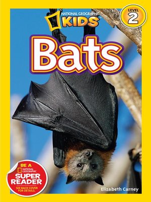 cover image of National Geographic Readers: Bats
