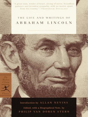 cover image of The Life and Writings of Abraham Lincoln