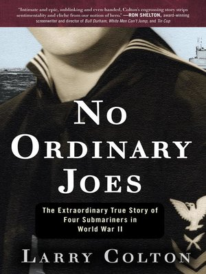 cover image of No Ordinary Joes