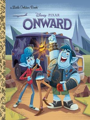 cover image of Onward Little Golden Book (Disney/Pixar Onward)