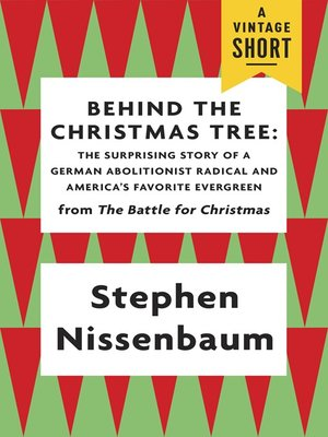 cover image of Behind the Christmas Tree